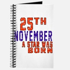 25 November A Star Was Born Journal
