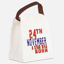 24 November A Star Was Born Canvas Lunch Bag