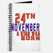 24 November A Star Was Born Journal
