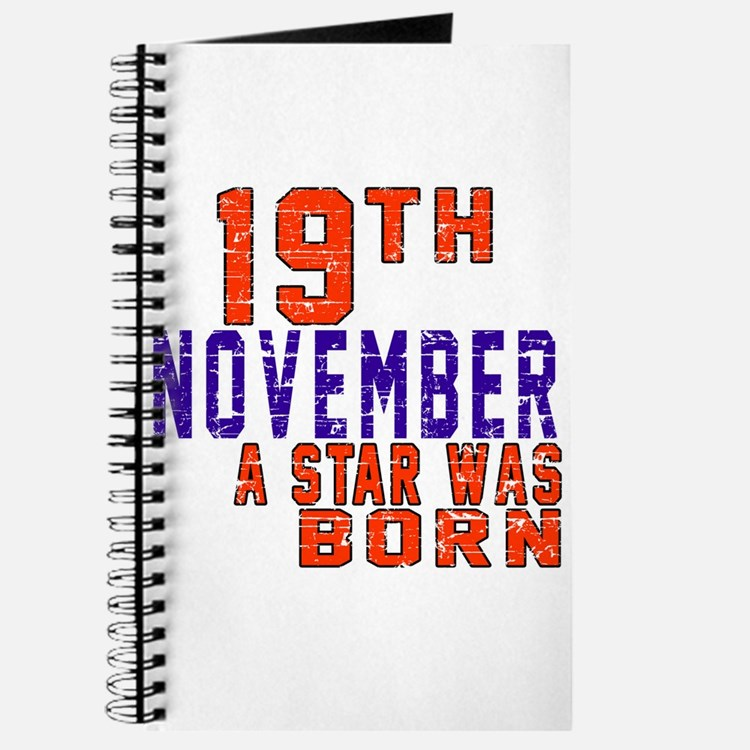 19 November A Star Was Born Journal