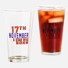 17 November A Star Was Born Drinking Glass