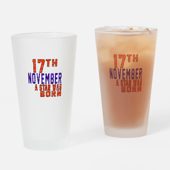 17 November A Star Was Born Drinking Glass