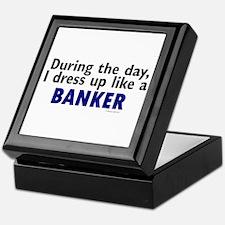 Dress Up Like A Banker Keepsake Box