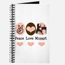 Peace Love Mozart Journal