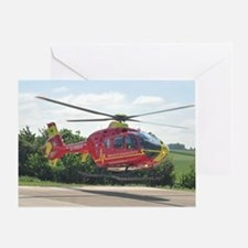 Unique Helicopter Greeting Card