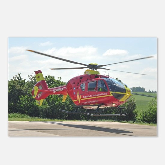 Cute Ambulance Postcards (Package of 8)