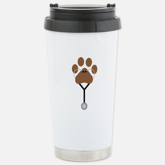 Vet Stethescope Travel Mug