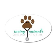 Saving Animals Wall Decal