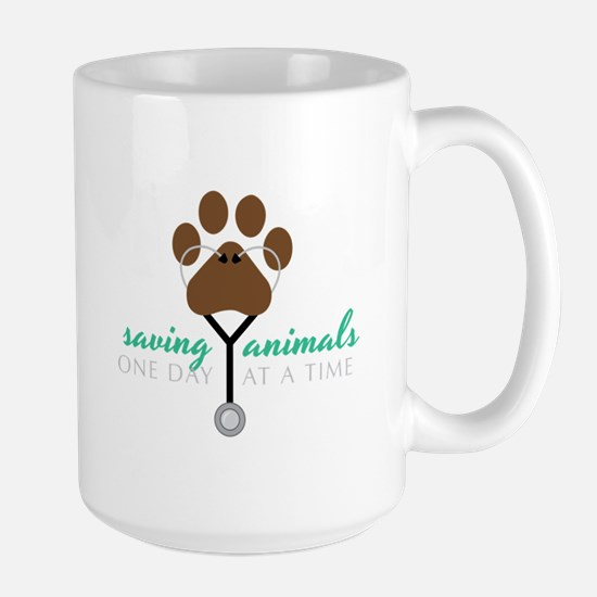 Saving Animals Mugs