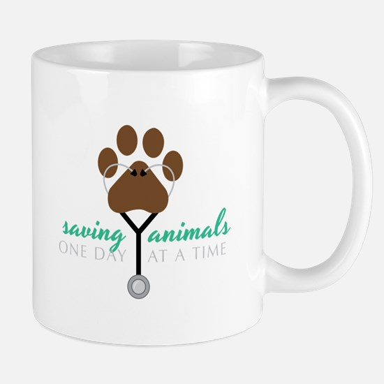 Saving Animals Mugs