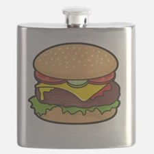 Cheeseburger Flask