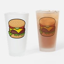 Cheeseburger Drinking Glass