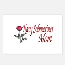 navy submariner mom rose Postcards (Package of 8)