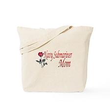 navy submariner mom rose Tote Bag