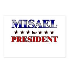 MISAEL for president Postcards (Package of 8)