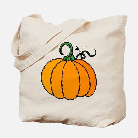 Unique Pumpkin Tote Bag