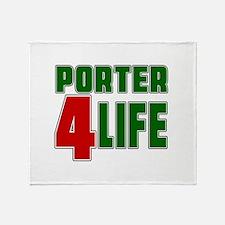 Porter For Life Throw Blanket