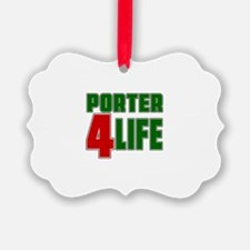 Porter For Life Ornament