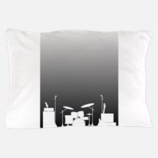 Live Band Poster Pillow Case