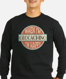happy geocacher T