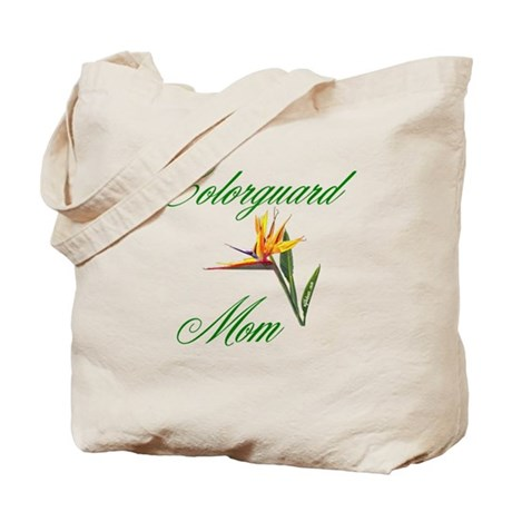 Colorguard Mom Tote Bag