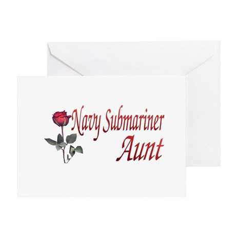 navy submariner aunt rose Greeting Card