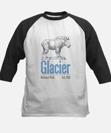 Glacier National Park Mountain Goa Baseball Jersey