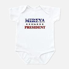 MIREYA for president Infant Bodysuit