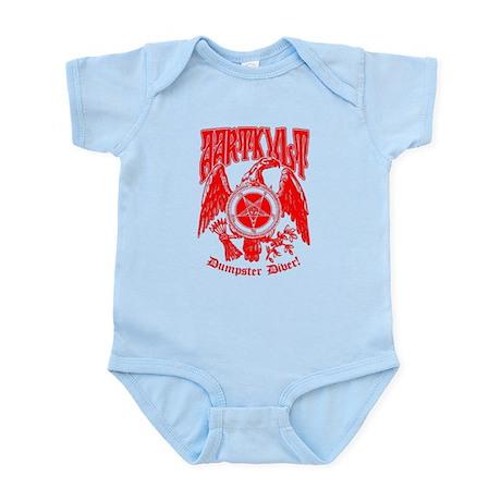 """AK """"Dumpster Dive"""" Infant Bodysuit"""