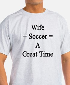 Soccer enthusiast T-Shirt