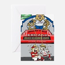 Funny cubs Greeting Card