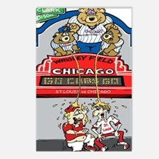 Funny Funny cubs Postcards (Package of 8)