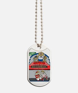 Funny cubs Dog Tags