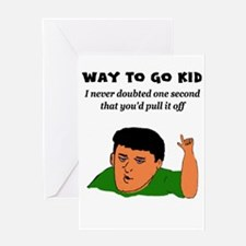 Job promotion Greeting Cards