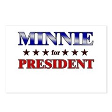 MINNIE for president Postcards (Package of 8)