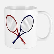 Crossed Rackets Mugs