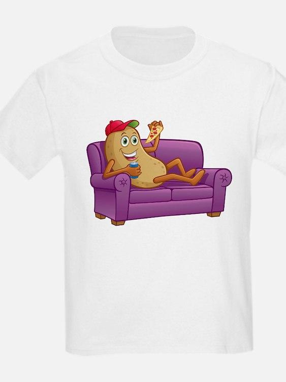Couch Potato Relaxing T-Shirt