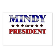 MINDY for president Postcards (Package of 8)