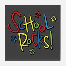 School Rocks! Tile Coaster