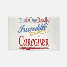 Incredible Caregiver Rectangle Magnet