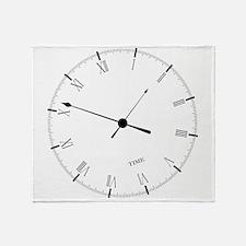 Time Throw Blanket