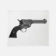 Six Gun Throw Blanket