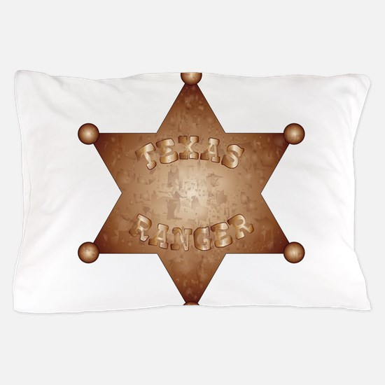 Texas Ranger Pillow Case