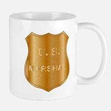 United States MArshal Shield Badge Mugs
