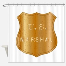 Us Marshals Shower Curtains