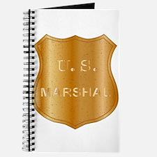 United States MArshal Shield Badge Journal