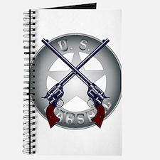 US Marshal Guns and Badge Journal