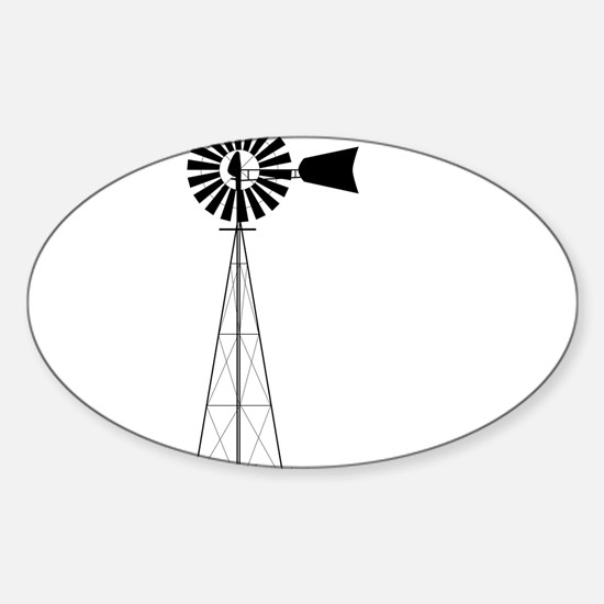 Windmill Decal