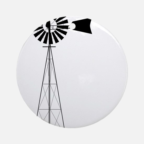 Windmill Round Ornament