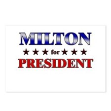 MILTON for president Postcards (Package of 8)